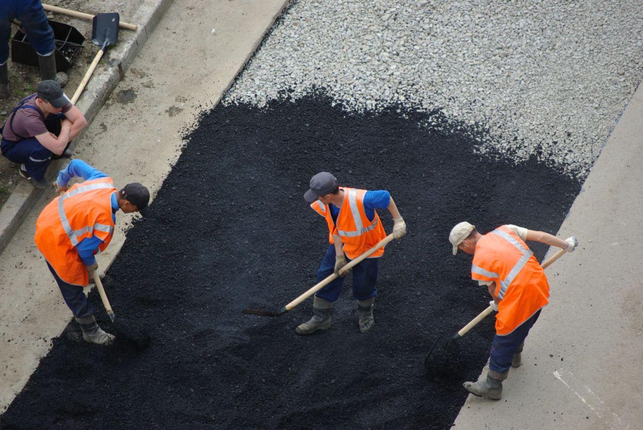 asphalt paving in Dallas
