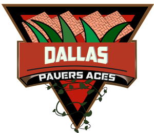 the paver aces logo